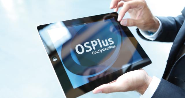 OSPlus auf iPad