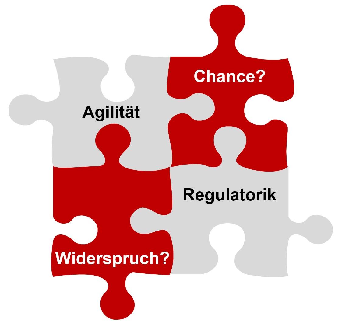 Agilität-Regulatorik